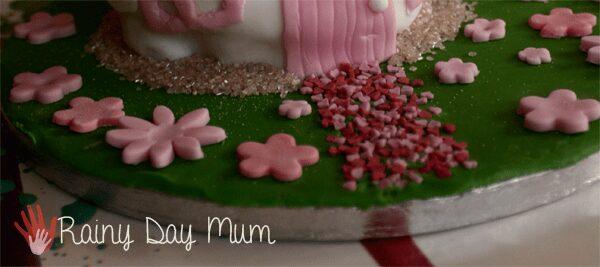 Fairy Birthday Cake for Little girls