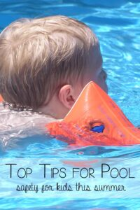 Top tips for pool safety with kids this summer