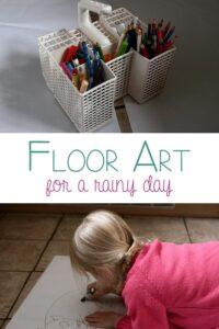 Floor Art for a Rainy Day