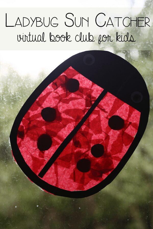 Ladybug Sun Catcher