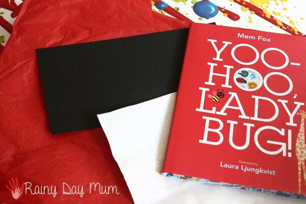Virtual Book Club for Kids - Ladybug Sun Catcher