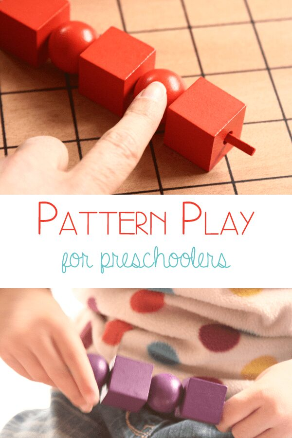 Pattern Play for Preschoolers