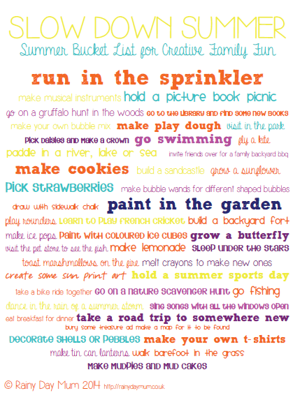 Slow down summer with these creative family friends summer bucket list ideas that are free or little cost
