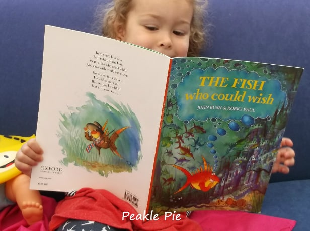 The Fish Who Could Wish - rhyming words and flipping fish game