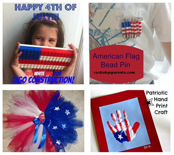 4 Simple Flag Crafts for Kids to Make