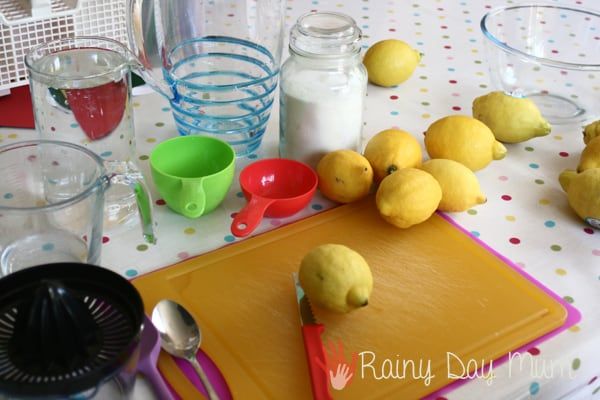 How to make lemonade with the kids