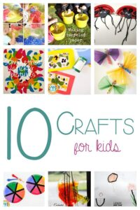 10 crafts for kids to keep the boredom at bay this summer
