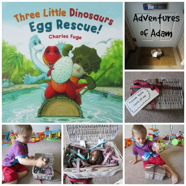 Three Little Dinosaurs Special Delivery - bringing books alive for kids