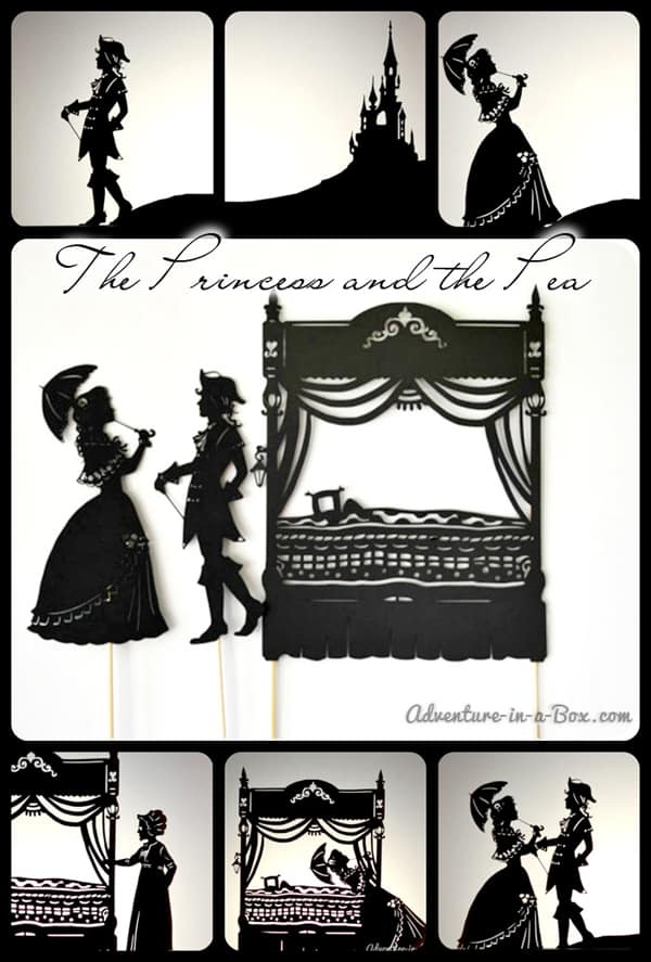 The Princess and the Pea Shadow Puppet Theatre