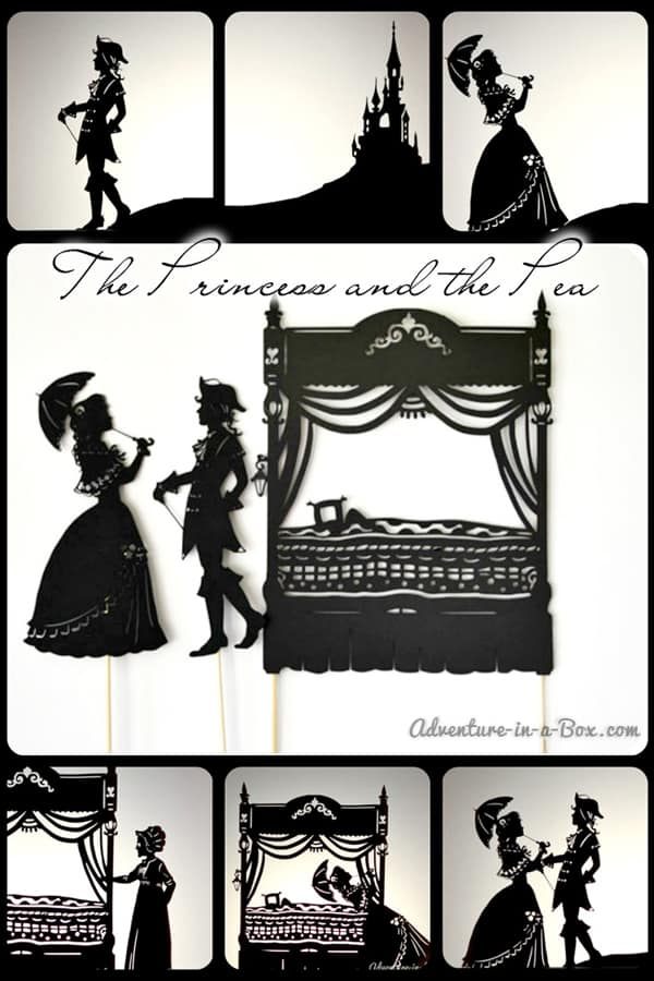 The Princess and the Pea DIY Shadow Puppet Theatre and Show
