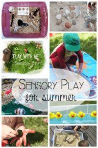 Summer Sensory Play Ideas for Tots
