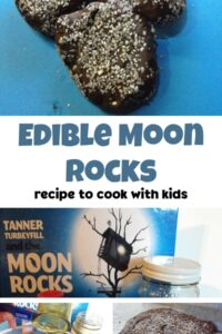 edible moon rocks recipe to cook with kids