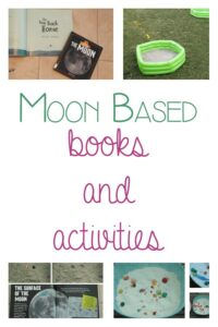 Moon based books and activities