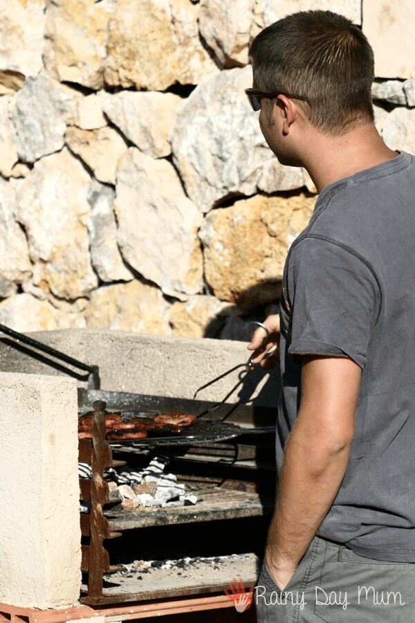Most properties have BBQ's perfect for family summer cooking