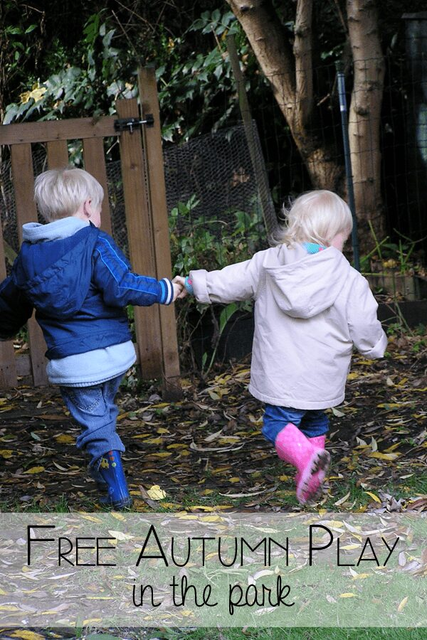Outdoor fall activities for kids and you to enjoy for free at the park