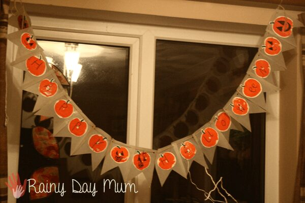 Happy Halloween Stamped Bunting