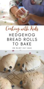Cooking with Kids Hedgehog Bread Rolls to Bake