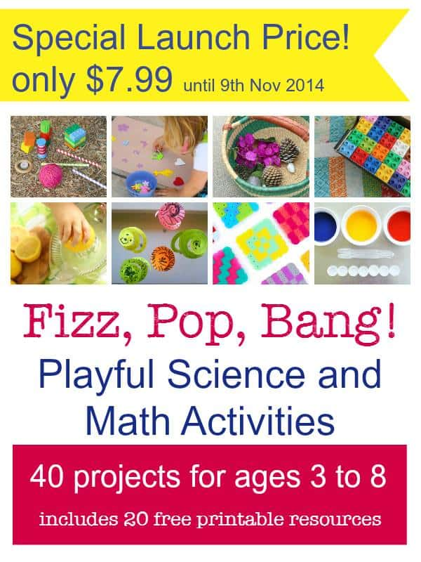 Fizz Pop Bang! Playful Science and Math Activities for 3 to 8 year olds