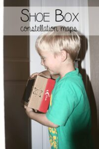 Shoe Box Constellation Maps – Simple Science at Home