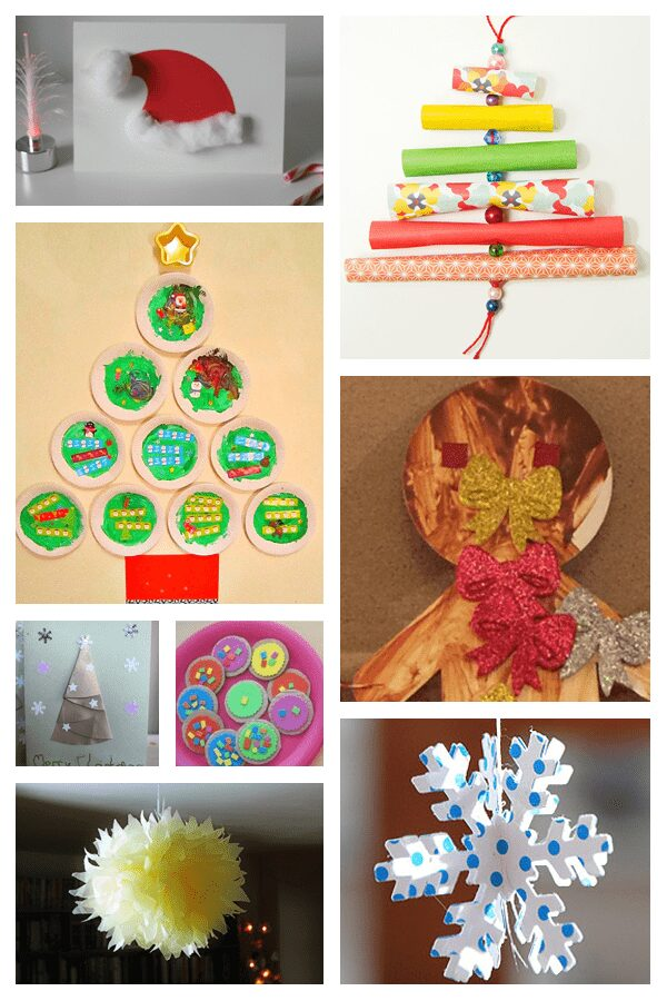 8 Paper Craft ideas for kids and adult to get ready for the festive season with Counting Down to Christmas on Rainy Day Mum