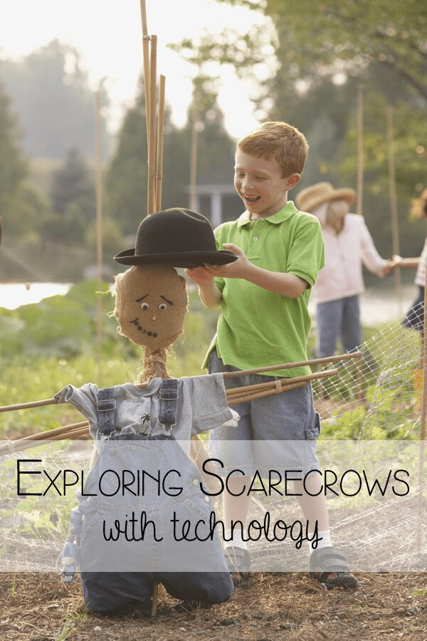 Discovering the history and cultural difference about scarecrows using technology with preschoolers