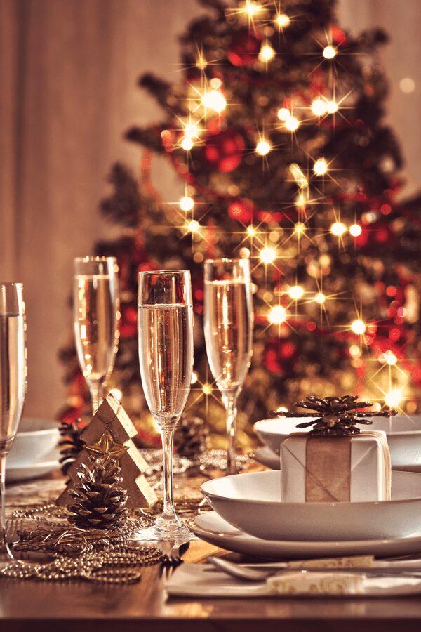 hosting a festive family meal