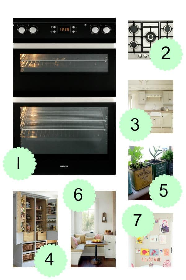Dream Kitchen mood board with Beko