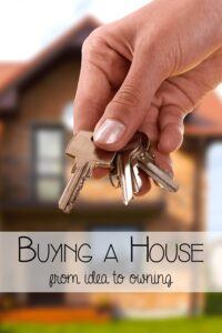 Buying a house - from idea to owning