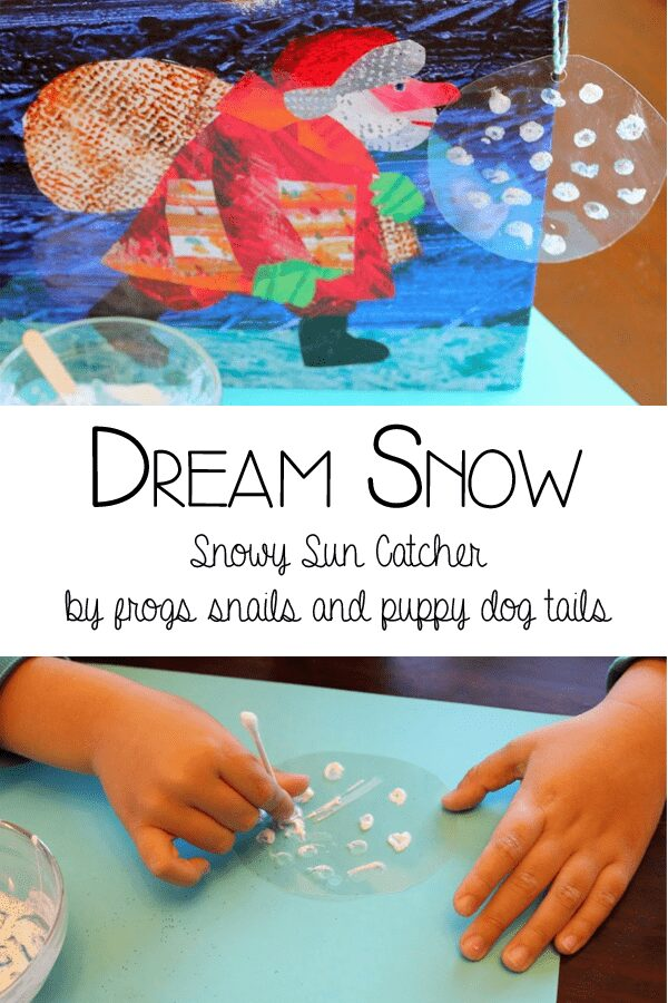 Dream Snow by Eric Carle - Sun Catchers or Ornaments for the Tree