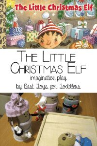 The Little Christmas Elf Santa workshop Imaginative Play