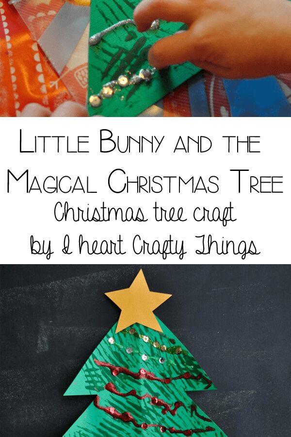 Magical Christmas Tree Craft for Kids to make