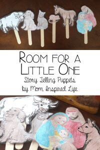 Room for a Little One, story telling puppets bringing the nativity alive