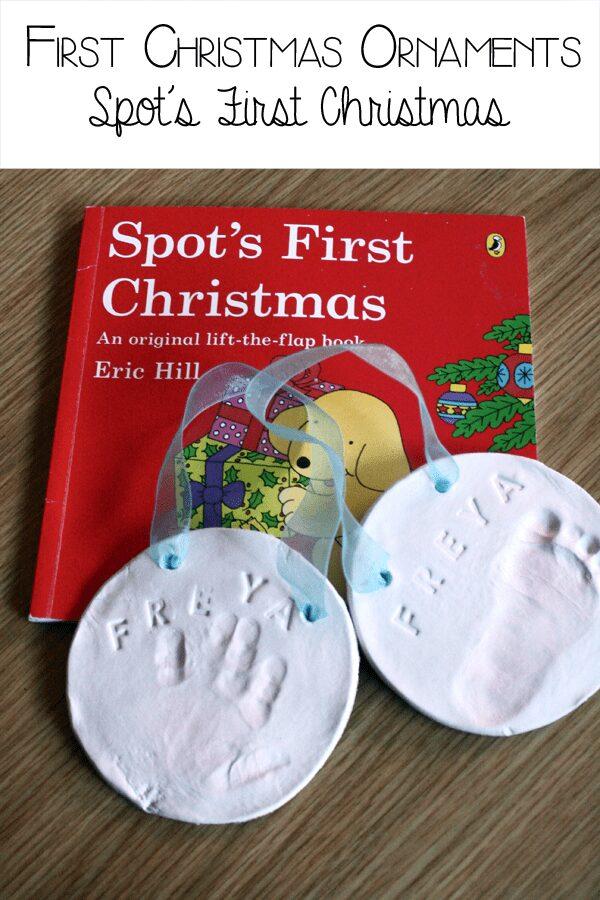 Handprint Salt dough Ornament