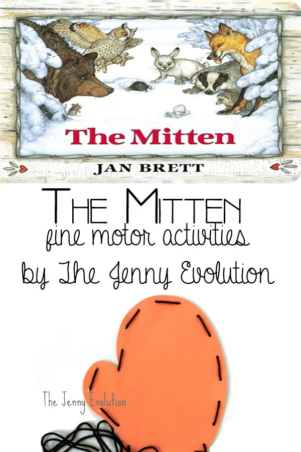 The Mitten fine motor activities for kids