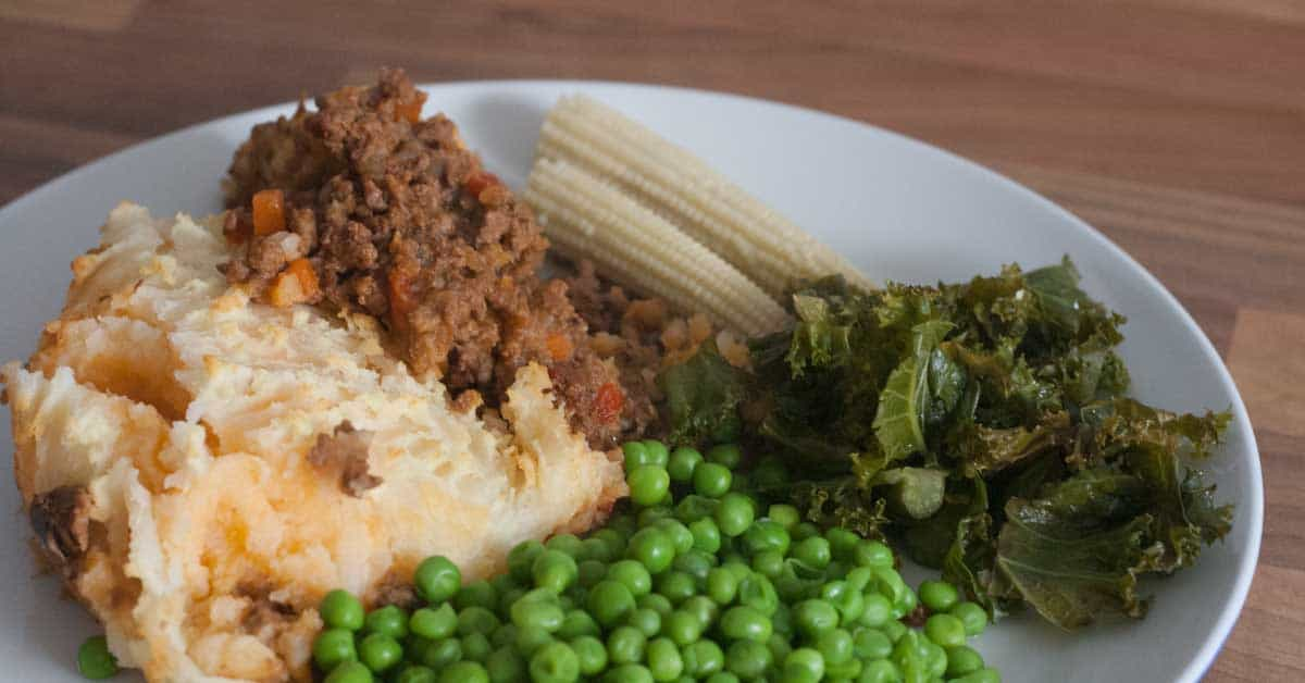 A Delicious make-ahead recipe that can be frozen for Mediterranean Shepherd's Pie perfect to make in batch and use for easy mid-week family meals.