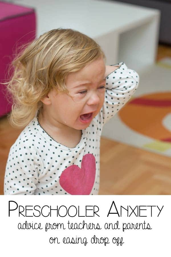 Preschool Anxiety - advice from parents and teachers on helping children deal with being left