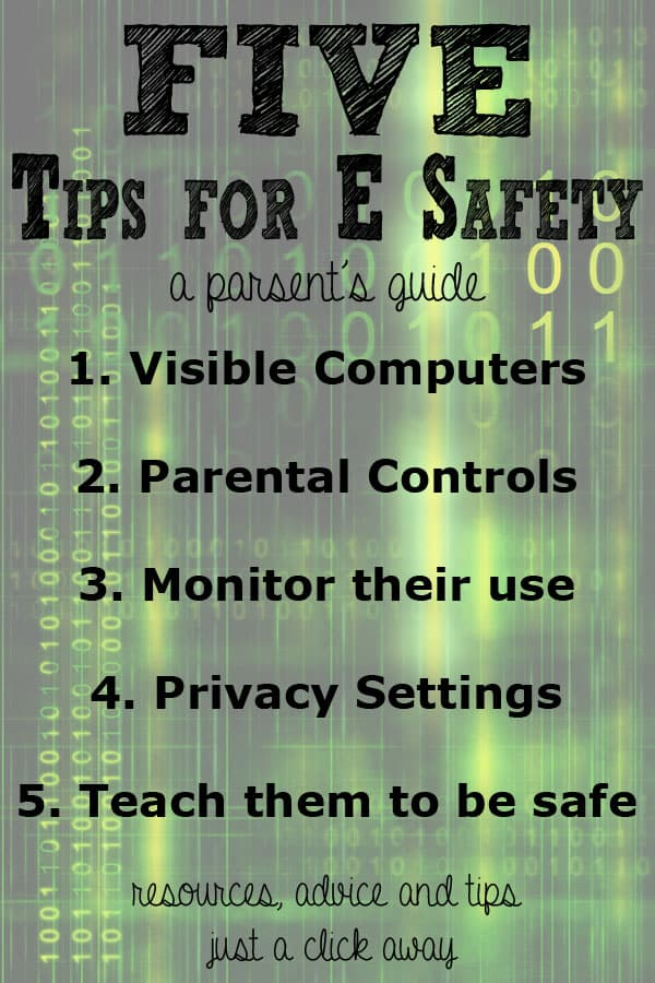 E-safety - a parent's guide what you need to know
