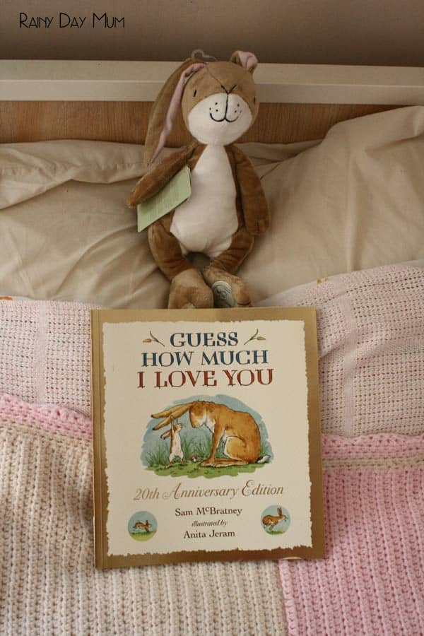 Guess How Much I Love you woven heart lunch notes celebrating 20 years of this iconic book