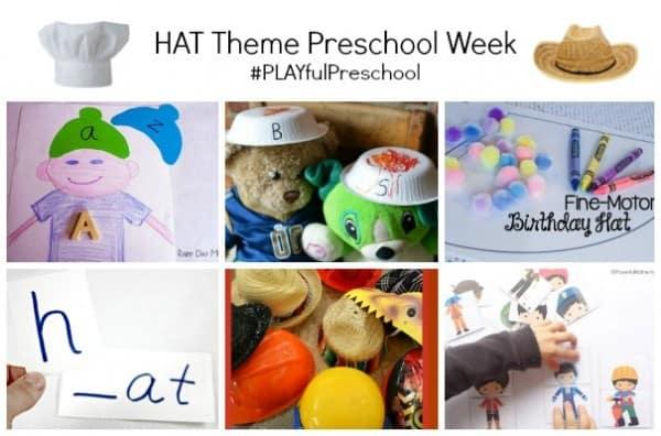 Hat activities for kids