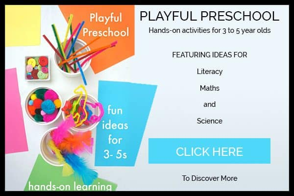 Playful Preschool - hands-on Activities for 3 to 5 year old E-book