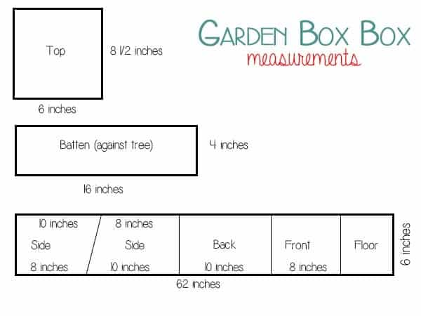 DIY Bird Box for small garden nesting birds
