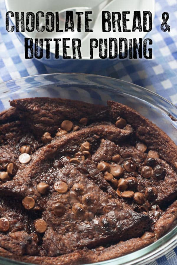No fuss easy Chocolate Bread and Butter Pudding recipe that tastes amazing, best served with some vanilla ice-cream and enjoyed!