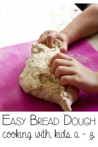 Easy Bread Dough – Cooking with Kids
