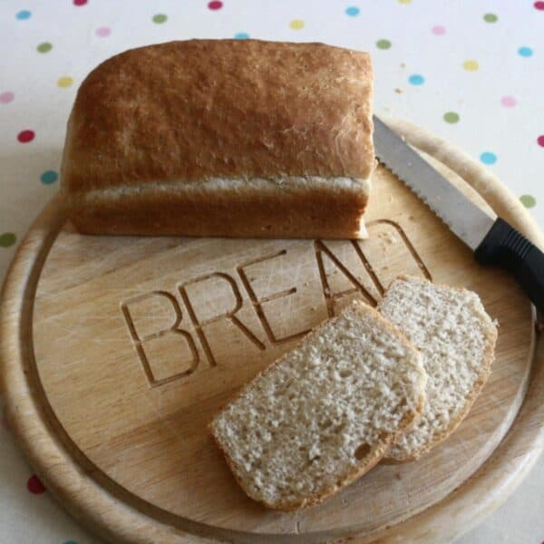 easy bread loaf recipe to cook with kids at home