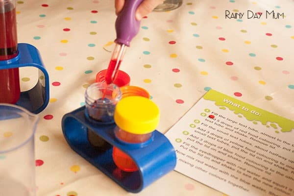 Lab Set - Science at home for elementary kids
