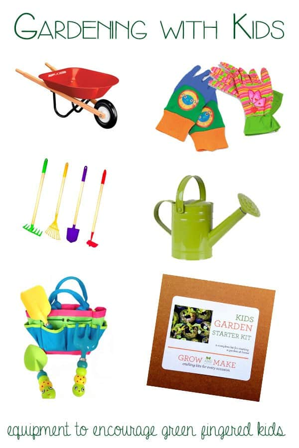 Gardening with Kids – equipment for Green Fingered Kids
