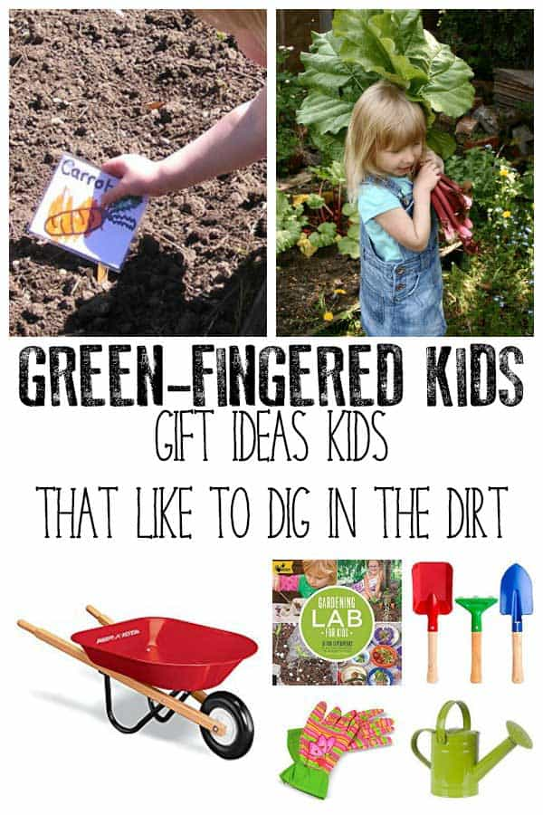 Gift ideas for Kids with Green Fingers