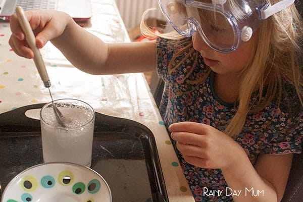 Growing Borax Free Crystals with kids