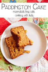 Marmalade Cake for Paddington Bear Family Movie Time