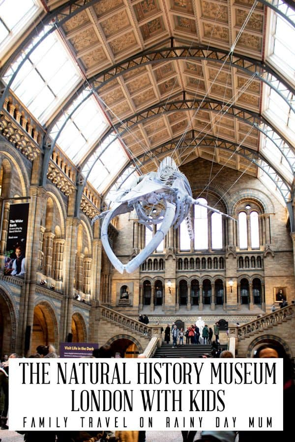 The Natural History Musem London with Kids - Family Travel on Rainy Day Mum